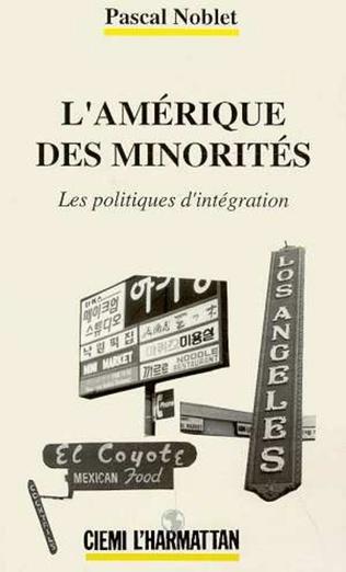 Couverture L'Amérique des minorités