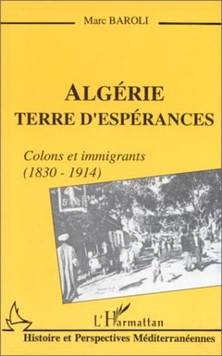Couverture Algérie terre d'espérances