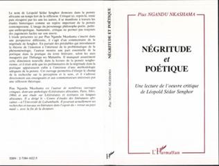 Couverture Négritude et poétique