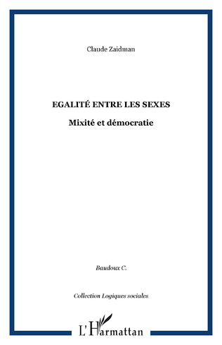 Couverture Egalité entre les sexes