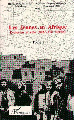 Couverture Les jeunes en Afrique