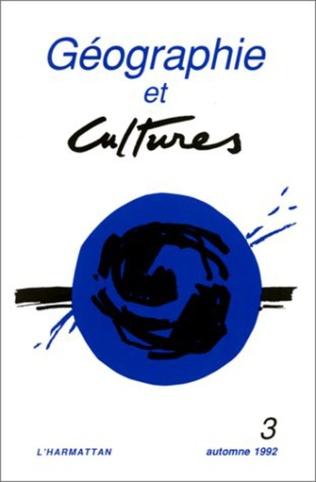 Couverture Géographie et cultures n°3