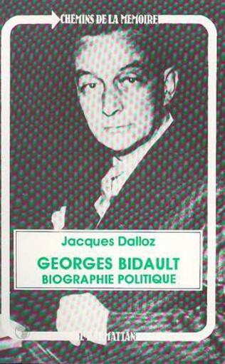 Couverture Georges Bidault