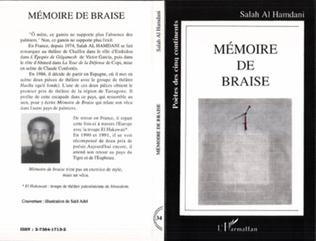 Couverture Mémoire de braise