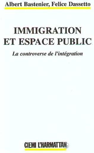Couverture Immigration et espace public
