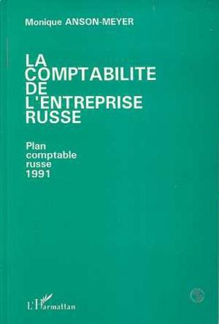 Couverture La comptabilité de l'entreprise russe