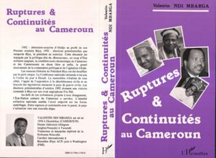 Couverture Ruptures et continuités au Cameroun