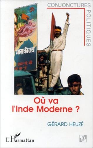 Couverture Où va l'Inde moderne ?