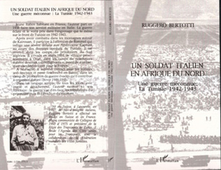 Couverture Un soldat italien en Afrique du Nord