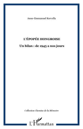 Couverture L'épopée hongroise