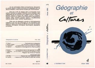 Couverture Géographie et cultures n°4