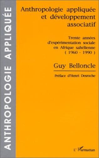 Couverture Anthropologie appliquée et développement associatif