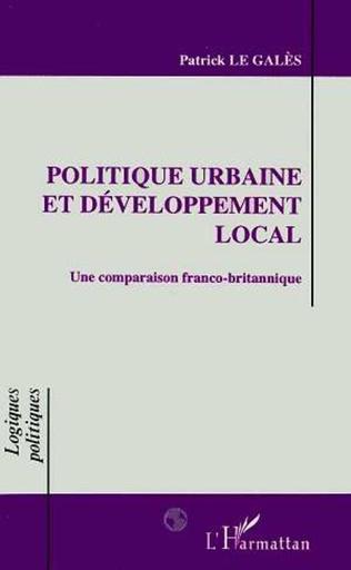 Couverture Politique urbaine et développement local