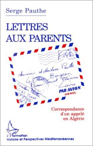 Couverture Lettre aux parents