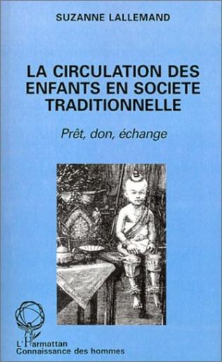 Couverture La circulation des enfants en société traditionnelle