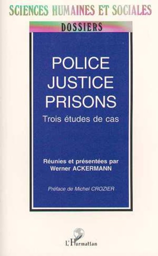Couverture POLICE, JUSTICE, PRISON