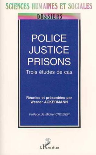 Couverture POLICE, JUSTICE, PRISON