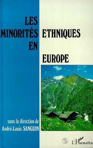 Couverture Les minorités ethniques en Europe