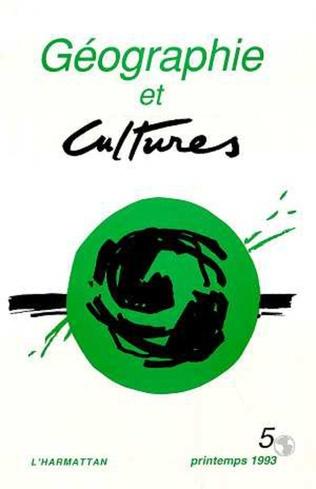 Couverture Géographie et cultures n°5