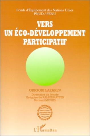 Couverture Vers un éco-développement participatif
