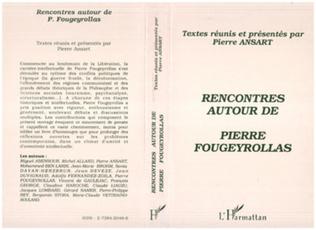 Couverture Rencontres autour de Pierre Fougeyrollas