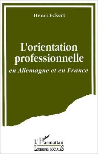 Couverture L'orientation professionnelle en Allemagne et en France