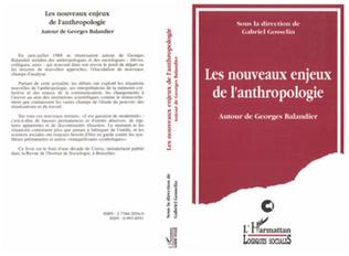 Couverture Les nouveaux enjeux de l'anthropologie