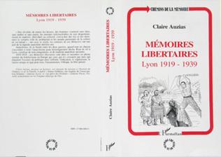 Couverture Mémoires libertaires