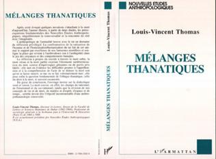 Couverture Mélanges thanatiques