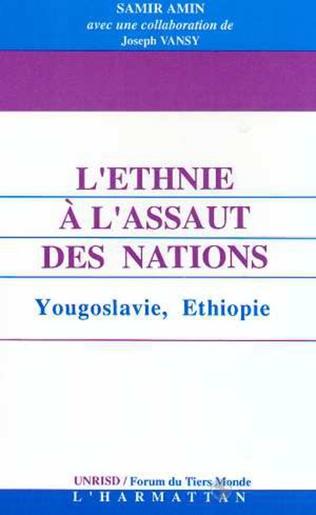 Couverture L'ethnie à l'assaut des nations