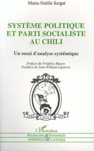 Couverture Système politique et parti socialiste au Chili