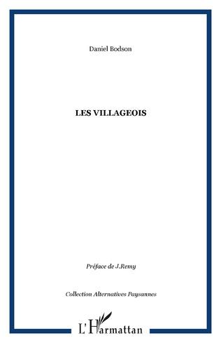 Couverture Les villageois