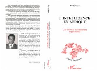 Couverture L'intelligence en Afrique