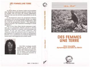 Couverture Des femmes, une terre