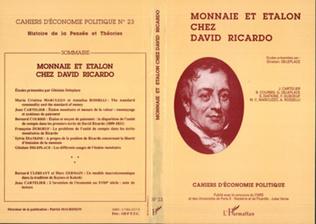 Couverture Monnaie et étalon chez David Ricardo
