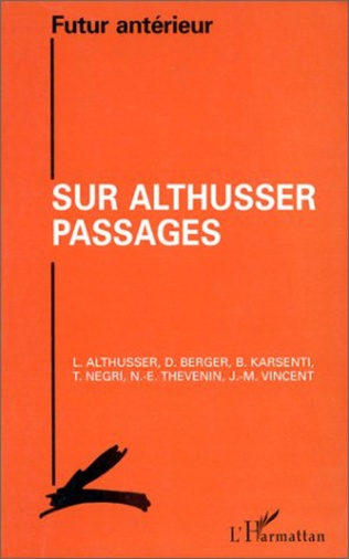 Couverture Sur Althusser