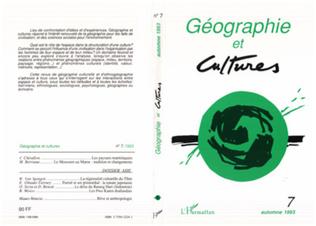 Couverture Géographie et cultures n°7