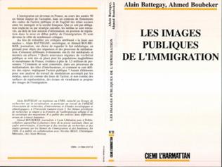 Couverture Les images publiques de l'immigration