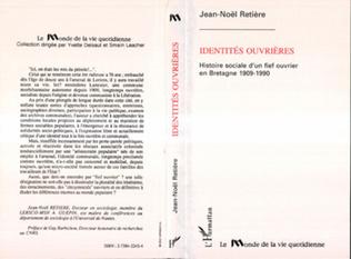 Couverture Identités ouvrières