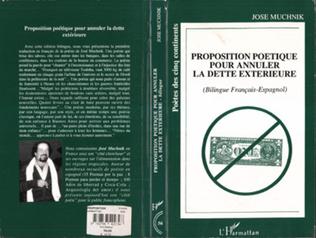 Couverture Proposition poétique pour annuler la dette extérieure