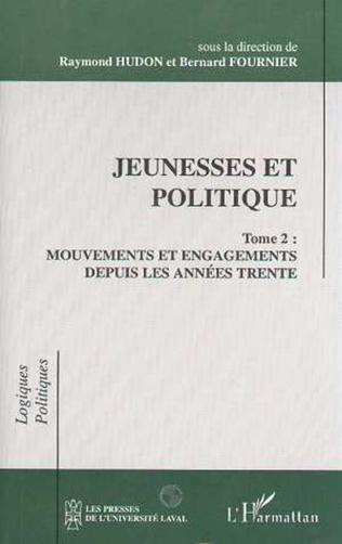 Couverture Jeunesses et politique