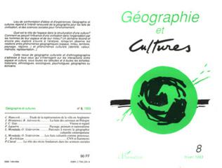 Couverture Géographie et cultures n°8