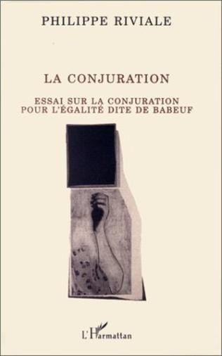 Couverture La conjuration