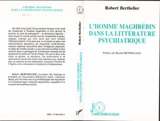Couverture L'homme maghrébin dans la littérature psychiatrique