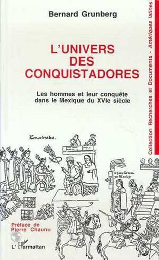 Couverture L'univers des conquistadores