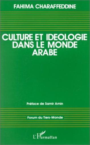 Couverture Culture et idéologie dans le monde arabe