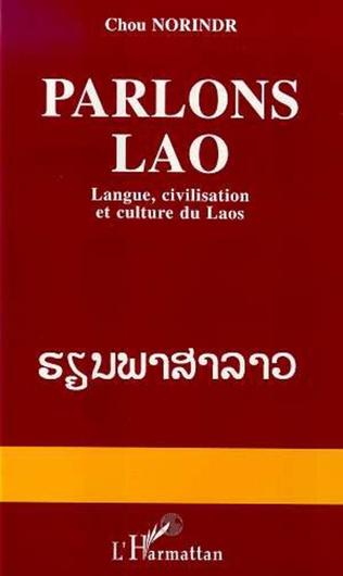 Couverture Parlons lao