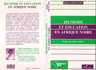 Couverture Jeunesse et éducation en Afrique Noire