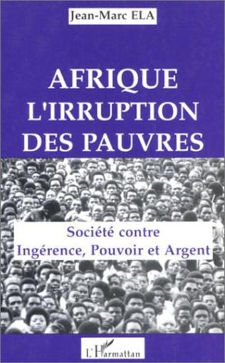 Couverture Afrique, l'irruption des pauvres