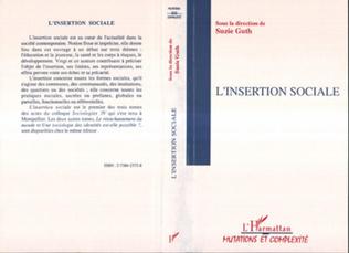Couverture L'INSERTION SOCIALE